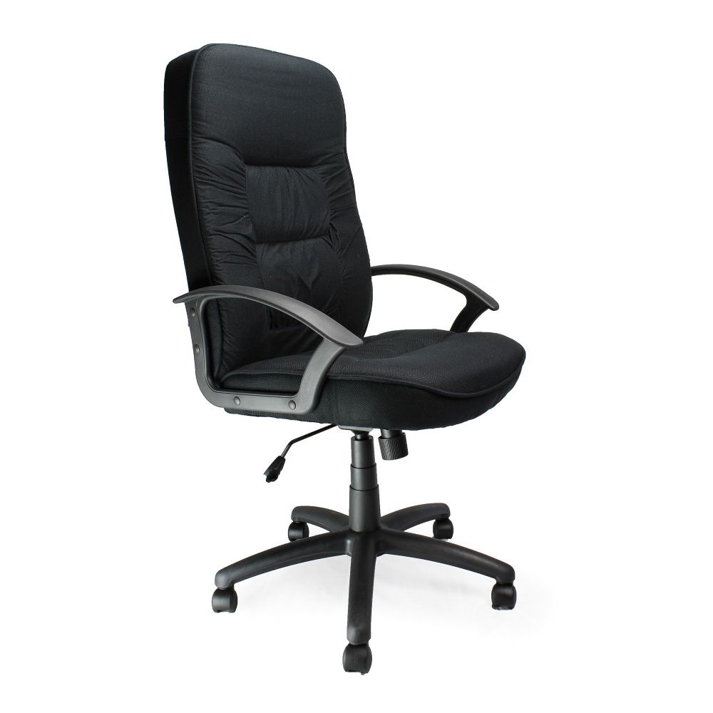 Coniston High Back, Executive Chair, Fixed Arms. Black, Blue or Red